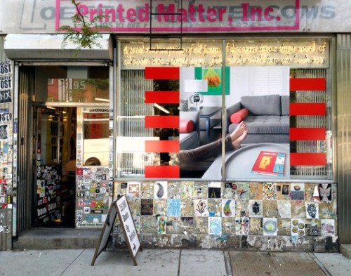 6 Window Promo, JIMMY LIMIT SPRING:SUMMER 2012 Cover #3 at Printed Matter NYC