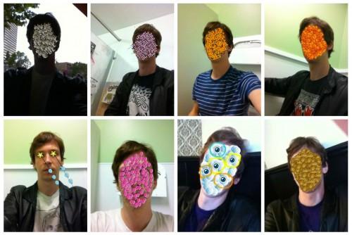 8 doodlebuddy selfies