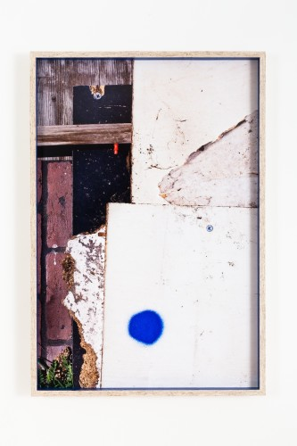 Dingbat (6), 2014 Inkjet print mounted on aluminum, artist's frame in chipboard 43 x 29 1/2 inches