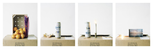 New work  Clementines, Modelo, Electric Candle, Sunset, 2013 4 parts, 36 1/2 x 30 inches each Digital C-prints
