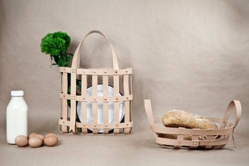Tote and Small Strap Basket