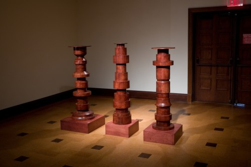 5.Installation View One Thing Follows Another (and you make it happen) The David Ousley Museum, IN Lacquered Ash 2013