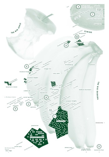 BAZAZAS Tourist Map Of Brooklyn and Queens