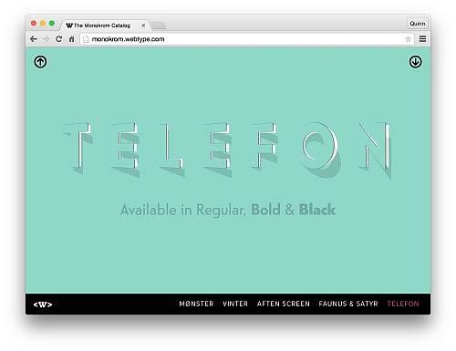 Webtype Monokrom 6